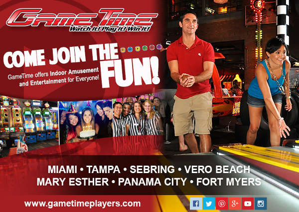 GameTime Family Entertainment Center Fun Club