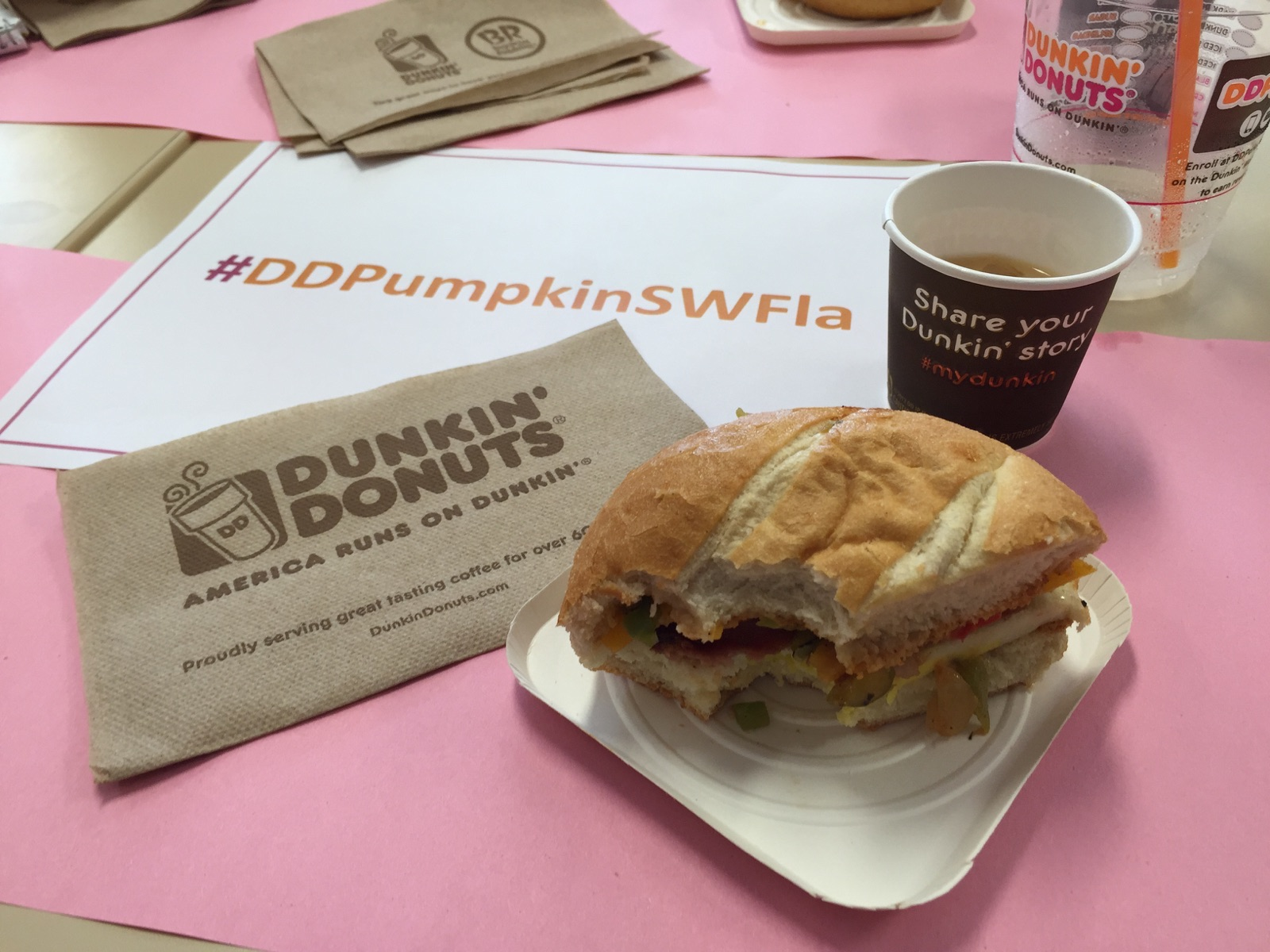 National Coffee Day at Dunkin Donuts September 29th