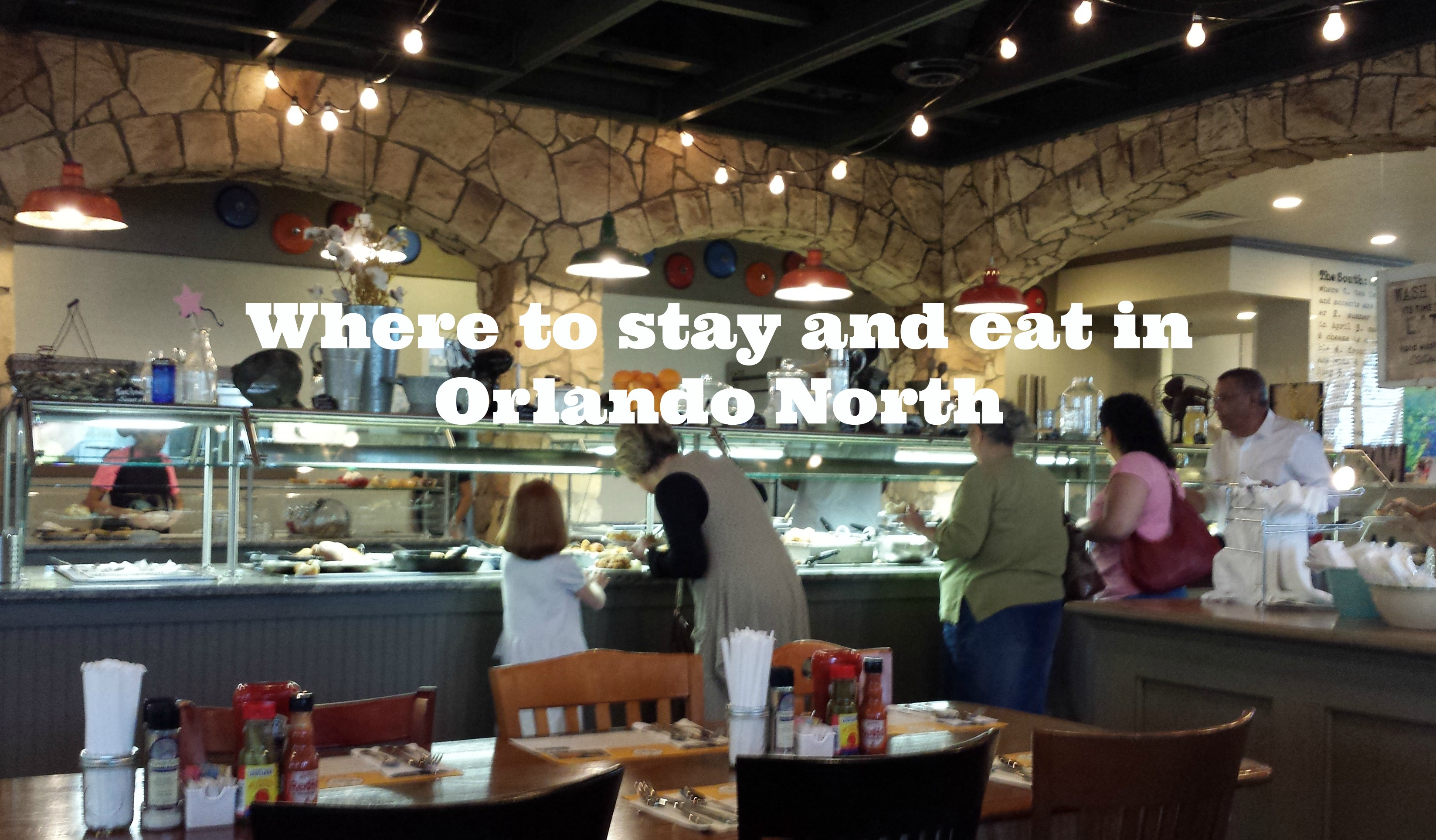 Where to stay and eat in Orlando North