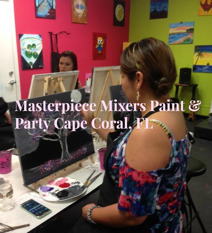 Masterpiece Mixers Paint & Party – Cape Coral