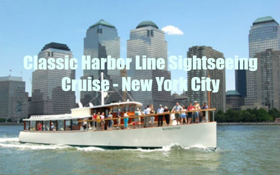 Classic Harbor Line Sightseeing Cruise – New York City