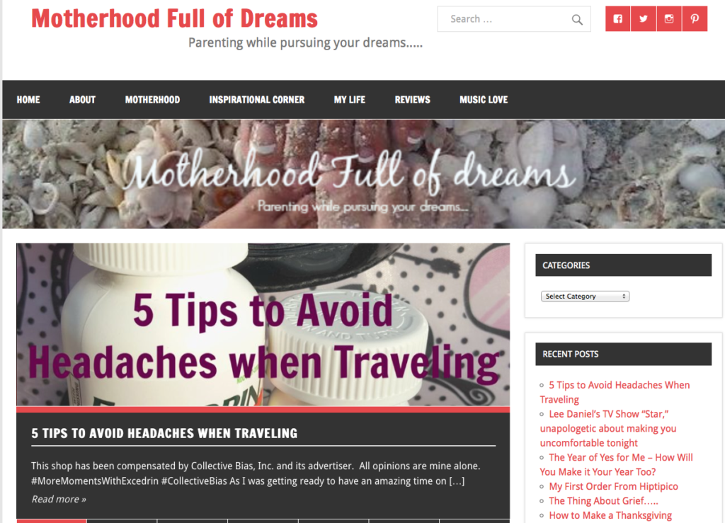 Motherhood Full of Dreams