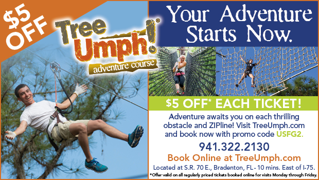 TreeUmph Adventure Course in Bradenton, FL